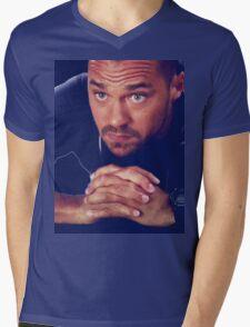 Avery Mens V-Neck T-Shirt