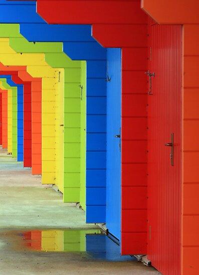 Rainbow Chalet by Paul McGuire