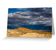 Sunlight over Death Valley Greeting Card