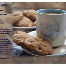 Grandma&#x27;s Coffee Cookies (recipe) w/ white border by Stephen Thomas