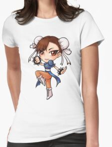 Chun-Li Womens Fitted T-Shirt