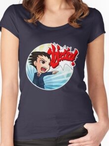Objection! Women's Fitted Scoop T-Shirt