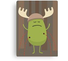 Dumb Ways To Die (Dress up like a moose during hunting season) Canvas Print