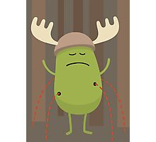Dumb Ways To Die (Dress up like a moose during hunting season) Photographic Print