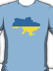Ukraine map flag T-Shirt