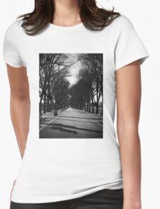 Run Forrest Run Womens Fitted T-Shirt
