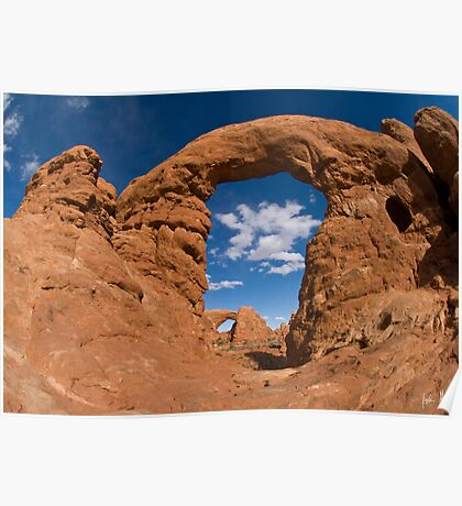 Turret Arch and South Window Arch Poster