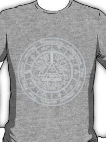 Bill Cipher Gravity Falls Symbols and Incantation  T-Shirt