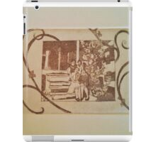 Front Porch Flowers iPad Case/Skin