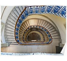 Somerset House staircase, London Poster