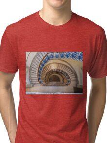 Somerset House staircase, London Tri-blend T-Shirt