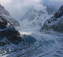 Mer de Glace, Chamonix by David Morgan
