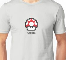 Mario's Mushroom - Go Big Unisex T-Shirt