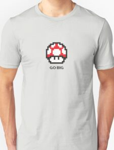 Mario's Mushroom - Go Big T-Shirt