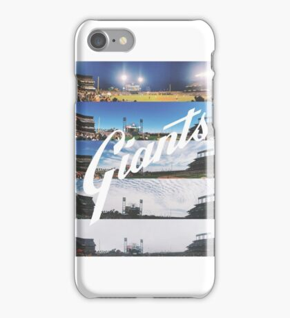 San Francisco Giants Season Ticket View at AT&T Park iPhone Case/Skin