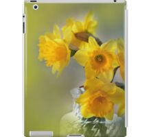 My First Daffodils iPad Case/Skin