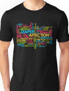 AB/DL words cloud Unisex T-Shirt