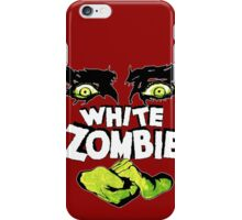 White Zombie (1930s Zombie Film) iPhone Case/Skin