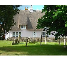 Thatched and Dispatched Photographic Print