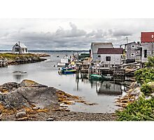 Blue Rocks Photographic Print