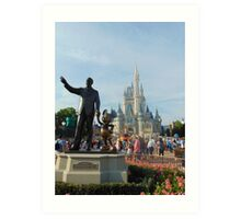 Partners Statue- Magic Kingdom Art Print