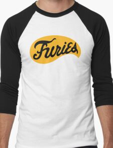 Baseball Furies' Logo, The Warriors Men's Baseball ¾ T-Shirt