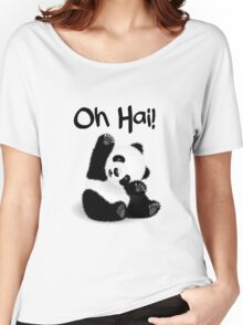 Baby Panda - Oh Hai! Women's Relaxed Fit T-Shirt