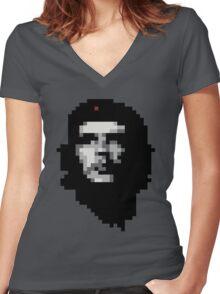 Viva la Resolution!  Women's Fitted V-Neck T-Shirt