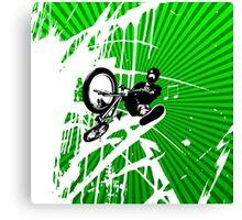 BMX Pop Art Canvas Print