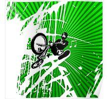 BMX Pop Art Poster