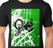 BMX Pop Art Green T-Shirt