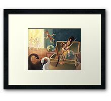 The Steadfast Tin Soldier Framed Print
