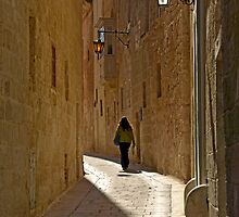 Narrow Streets by Xandru