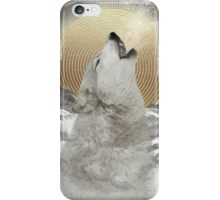 Turn Your Face To The Sun (Stay Gold Wolf) iPhone Case/Skin