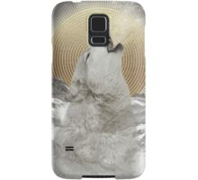 Turn Your Face To The Sun (Stay Gold Wolf) Samsung Galaxy Case/Skin