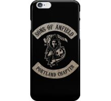 Sons of Anfield - Portland Chapter iPhone Case/Skin