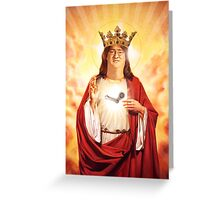 Praise Lord Gaben Greeting Card