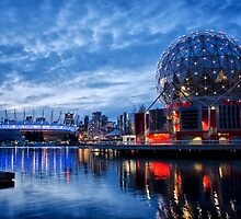 Telus & BC Place, False Creek by WorldScapes