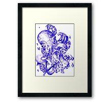 INK OCTOPUS Framed Print