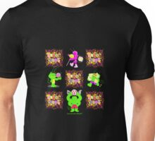 Sugar Bugs all 4 logo 2 Unisex T-Shirt