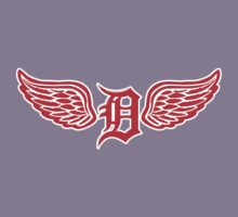 Detroit D Wing Kids Clothes