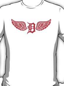 Detroit D Wing T-Shirt