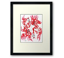 Red Hot Amy Framed Print