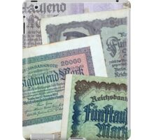 Historical banknotes iPad Case/Skin