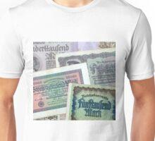 Historical banknotes Unisex T-Shirt