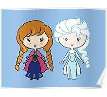 Lil' CutiEs - Summer & Winter Princesses Poster