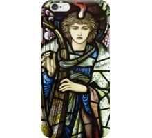 stained glass in William Morris gallery iPhone Case/Skin