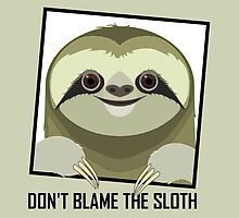 DON'T BLAME THE SLOTH by Jean Gregory  Evans