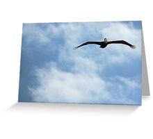 Blue Sky High Greeting Card