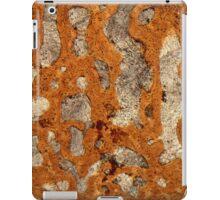 Dinosaur bone under the microscope iPad Case/Skin